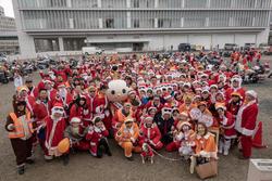 12/23  ハーレーサンタCLUB NAGOYA クリスマストイランバイカーズパレード